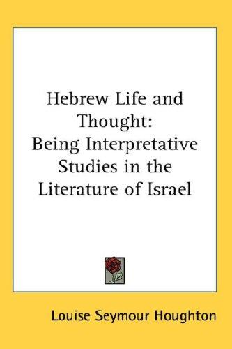 Download Hebrew Life and Thought