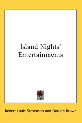Download Island Nights' Entertainments