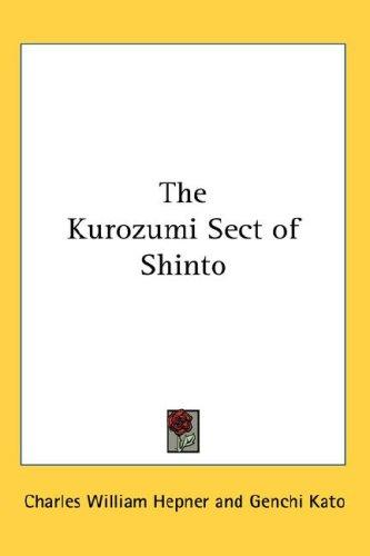 Download The Kurozumi Sect of Shinto