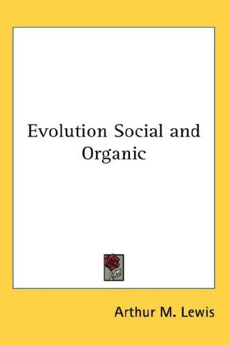 Download Evolution Social and Organic