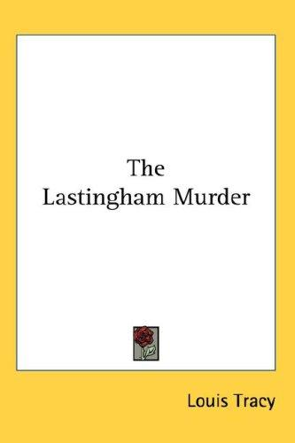 Download The Lastingham Murder