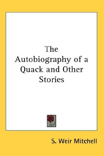Download The Autobiography of a Quack and Other Stories
