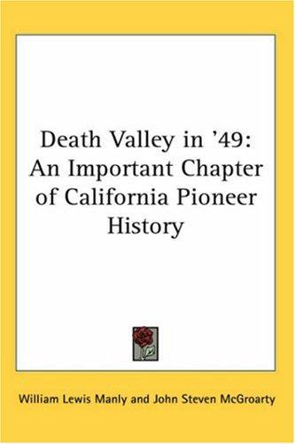 Download Death Valley in '49