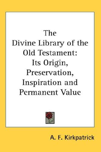 Download The Divine Library of the Old Testament