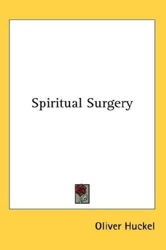 Download Spiritual Surgery