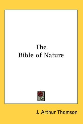 Download The Bible of Nature