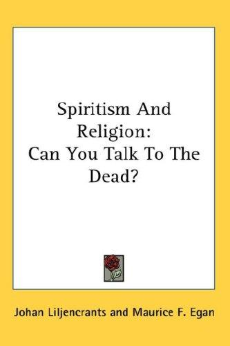 Download Spiritism And Religion