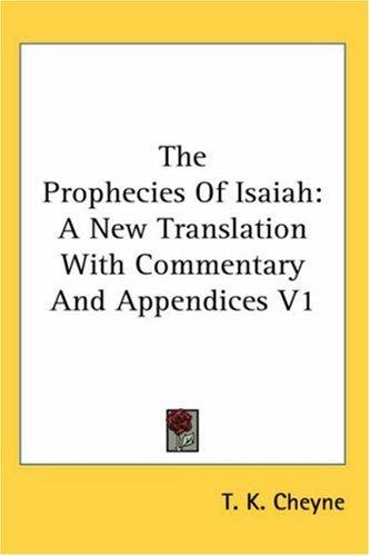 Download The Prophecies Of Isaiah