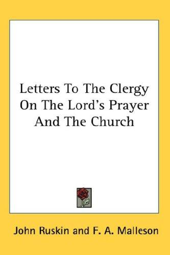 Download Letters To The Clergy On The Lord's Prayer And The Church