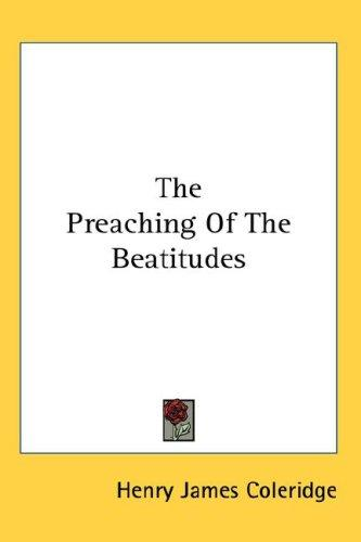 The Preaching Of The Beatitudes