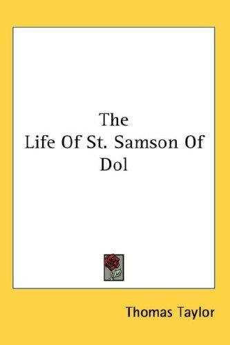 The Life Of St. Samson Of Dol