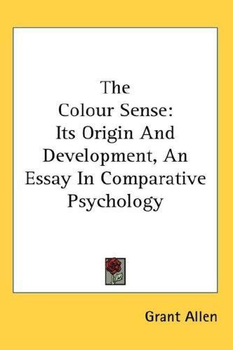 The Colour Sense