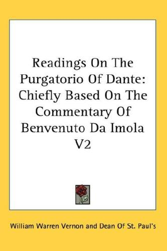 Download Readings On The Purgatorio Of Dante