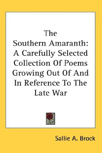 Download The Southern Amaranth