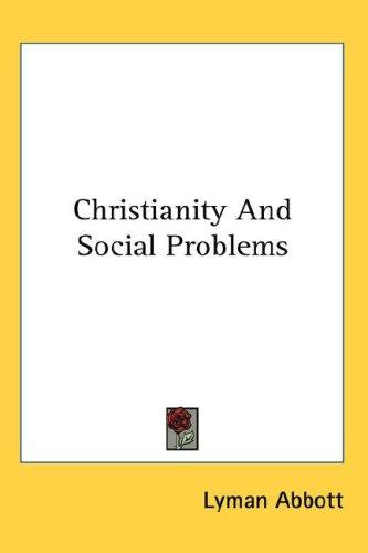 Christianity And Social Problems