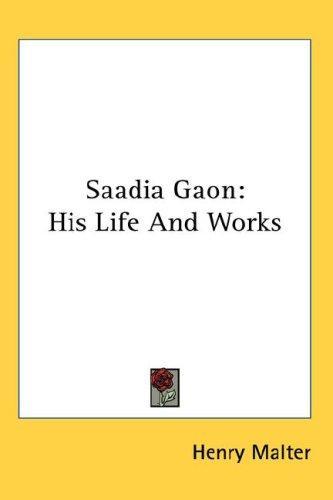 Saadia Gaon