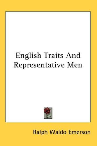Download English Traits And Representative Men