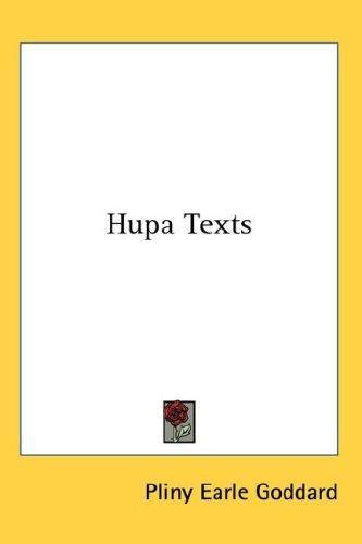 Hupa Texts