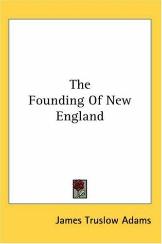 Download The Founding Of New England