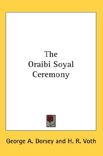 The Oraibi Soyal Ceremony
