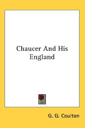 Chaucer And His England