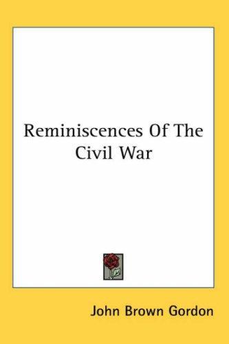 Download Reminiscences Of The Civil War