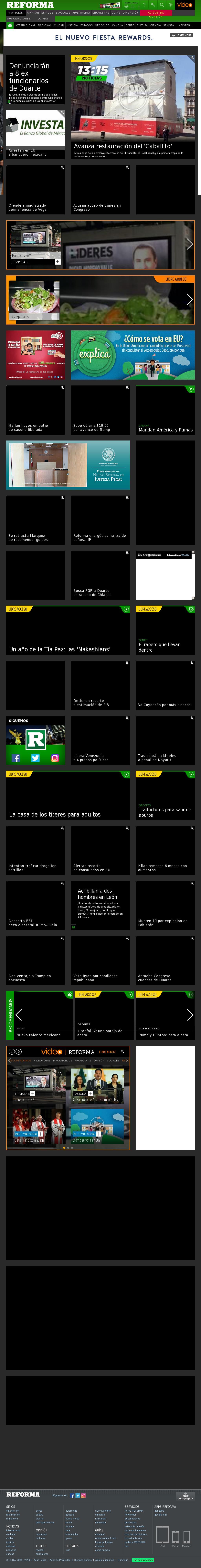 Reforma.com at Tuesday Nov. 1, 2016, 8:16 p.m. UTC