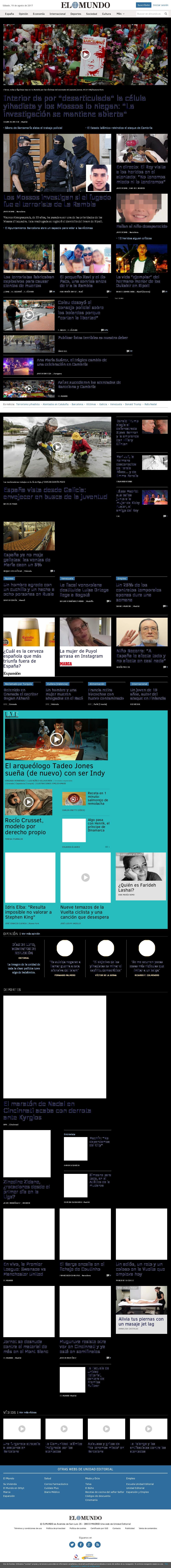 El Mundo at Saturday Aug. 19, 2017, 1:15 p.m. UTC