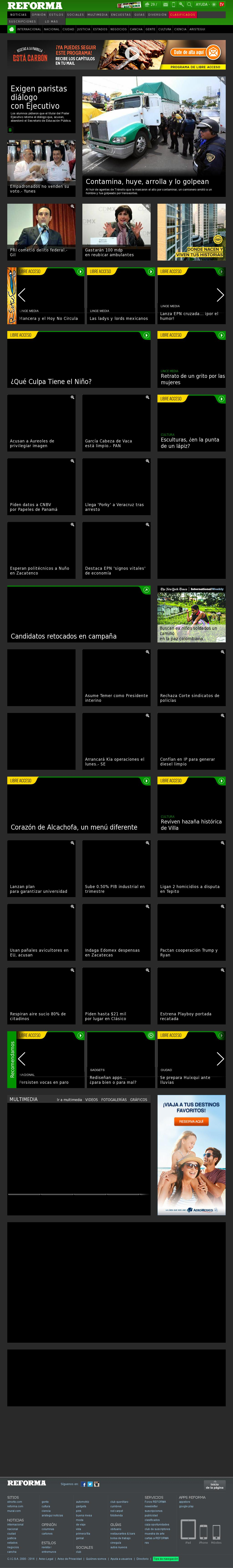 Reforma.com at Thursday May 12, 2016, 10:18 p.m. UTC