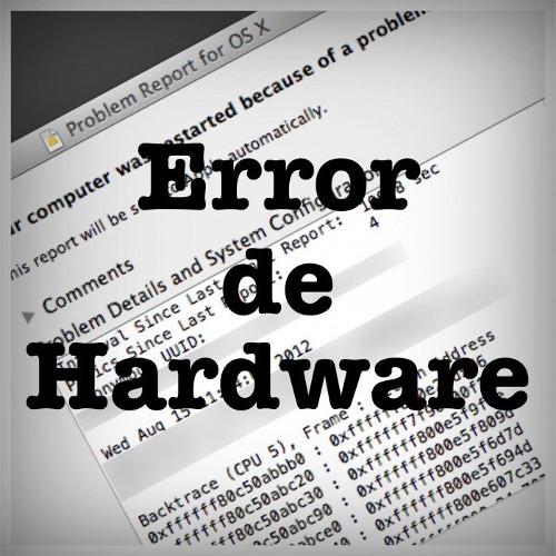 Error de hardware