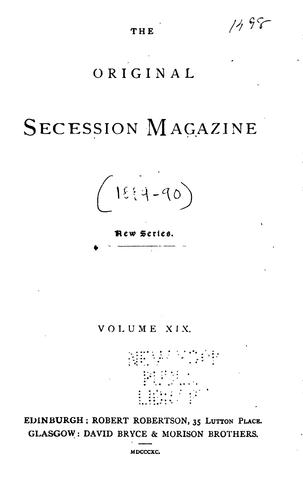 The Original Secession Magazine by
