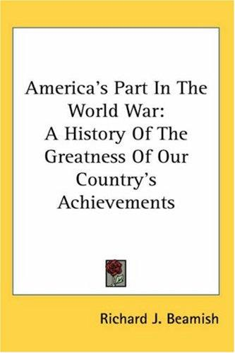 America's Part In The World War