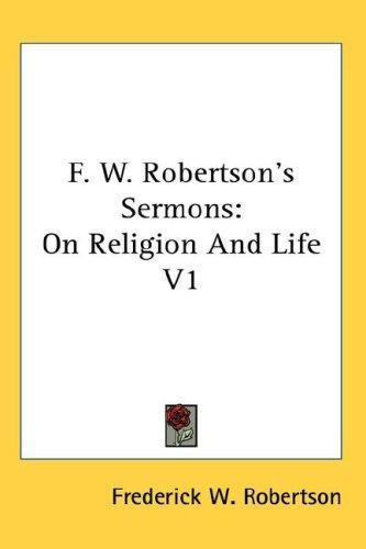 F. W. Robertson's Sermons