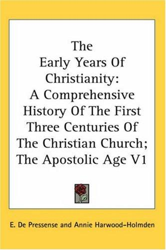 The Early Years Of Christianity